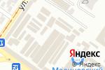 Схема проезда до компании MebelMIX в Одессе