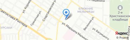 Marshall на карте Одессы