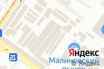 Схема проезда до компании Marshall в Одессе