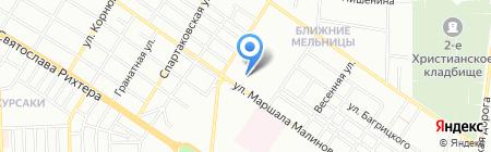 Сеть магазинов электротоваров на карте Одессы