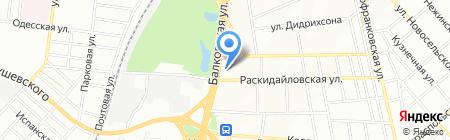 Berlinavto на карте Одессы