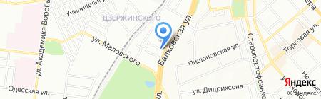 Віртус на карте Одессы