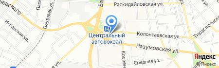 Місце зустрічі на карте Одессы