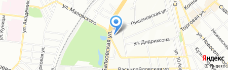 Шар-лемань на карте Одессы