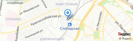 Форклифт на карте Одессы