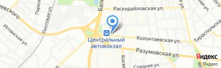 Транспортная фирма на карте Одессы