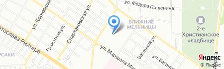 Торсион на карте Одессы