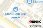 Схема проезда до компании Palitra в Одессе