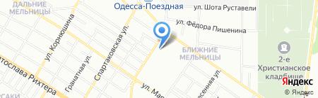 Цветок Вероны на карте Одессы