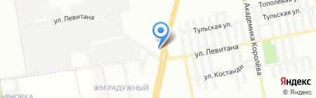 Два шага на карте Одессы