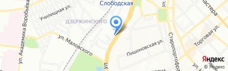 ВиДи-Страхование на карте Одессы