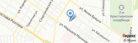Викет на карте Одессы