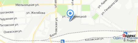 Военный комиссариат на карте Одессы