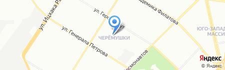 Специальная общеобразовательная школа-интернат №93 I-III ступеней коррекционного и реабилитационного направления на карте Одессы