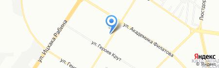 Антошка на карте Одессы