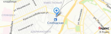 Интерконус Одесса на карте Одессы