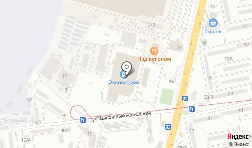 Кодокан. Схема проезда в Одессе
