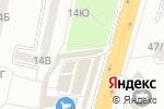 Схема проезда до компании Формула Сна в Одессе