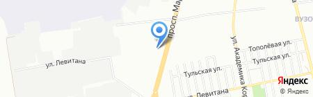 Укркредитсервис ПО на карте Одессы