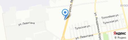 Лесная поляна на карте Одессы