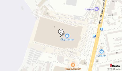 Кактус. Схема проезда в Одессе