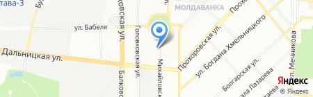 АМО-Украина на карте Одессы