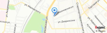 Сантехстроймонтаж-В на карте Одессы
