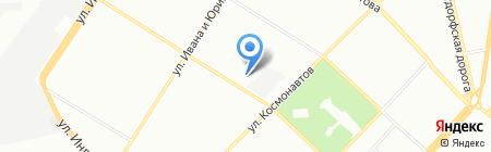 Кудряшки на карте Одессы
