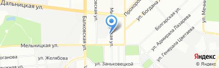 Теком-жизнь ЧАО на карте Одессы