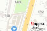 Схема проезда до компании 220-V в Одессе