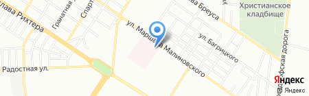 Ирина и Ко на карте Одессы