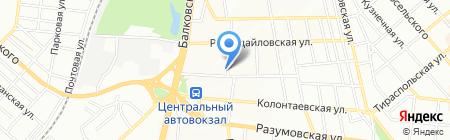 Мир сантехники и керамики на карте Одессы