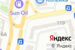 Схема проезда до компании Леди стиль в Одессе