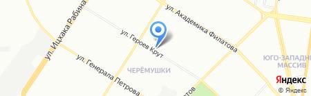 Леди Рута на карте Одессы