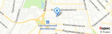Тепла хата на карте Одессы