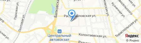 Стройтех на карте Одессы