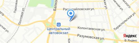 Хилти Украина на карте Одессы