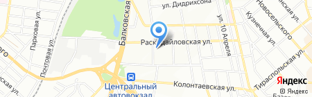 Наш электрик на карте Одессы