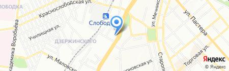 Смачна Хата на карте Одессы
