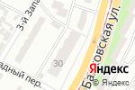 Схема проезда до компании Квіти в Одессе