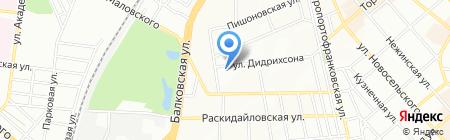 Аврамед на карте Одессы