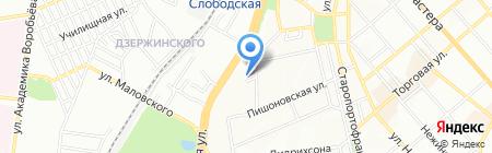 Всеукраинский академический союз на карте Одессы