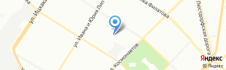 Сапожок на карте Одессы