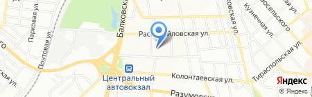 Магазин дымоходов и вентиляционного оборудования на карте Одессы