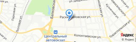 Сила Тока на карте Одессы