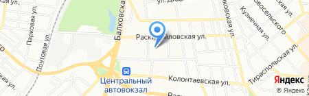 Оса на карте Одессы