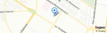 Детская школа искусств №3 на карте Одессы