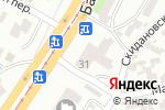 Схема проезда до компании Контрабас в Одессе