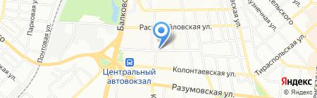 Тумен на карте Одессы