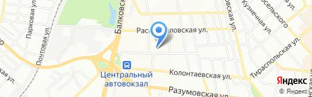Точка здоровья на карте Одессы